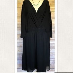 LANE BRYANT Black Dress